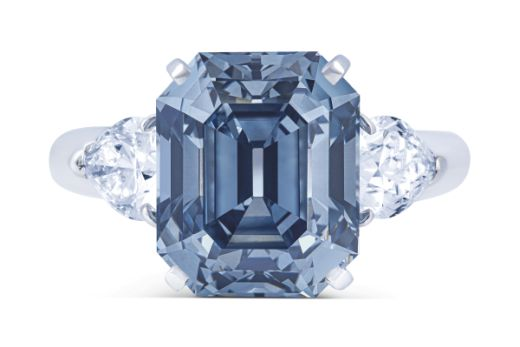 Diamonds Net 7ct Blue Fetches 12m At Christie S Geneva