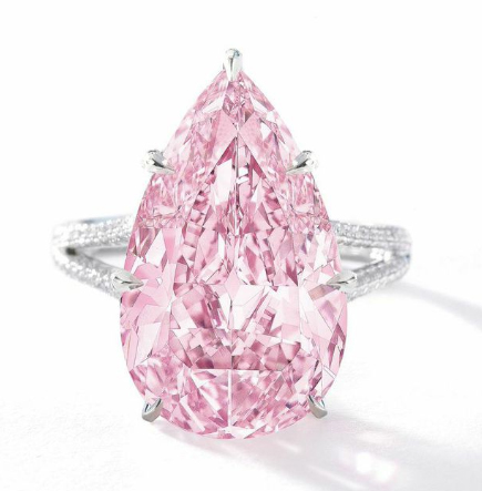 Diamond Ring Achieved A Sales Price Of 4345361 Hong Kong