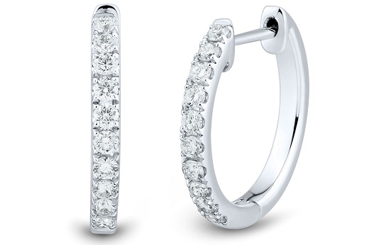 Synthetic Diamond Earrings