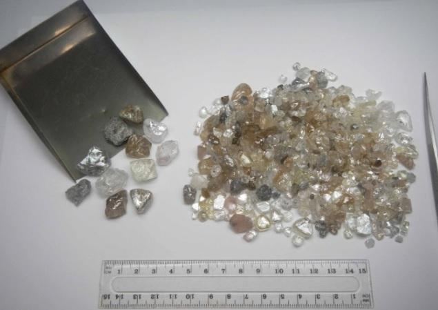 Diamonds net - Sales Steady at Lulo Diamond Mine