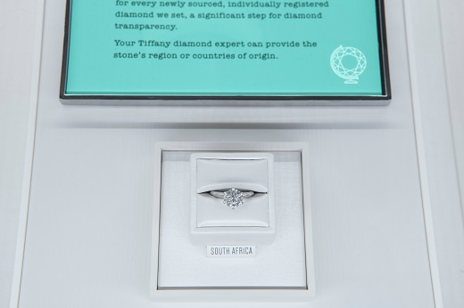 1221e964b67 Tiffany   Co. has begun disclosing the geographical origin of its diamonds  to consumers
