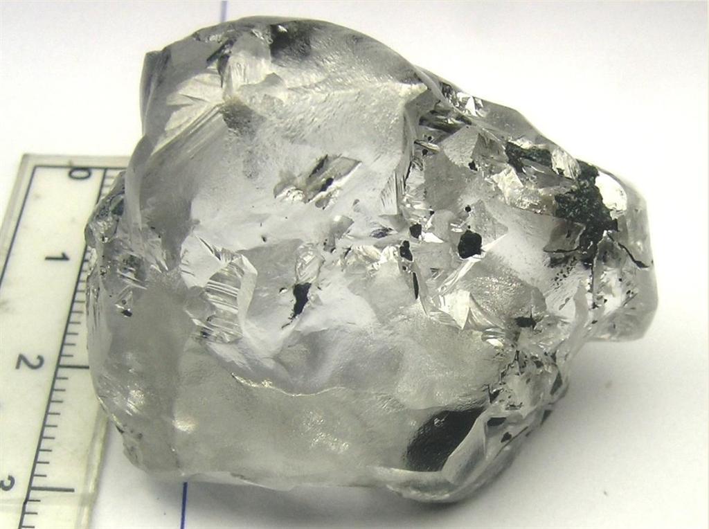 196-carat Letseng diamond