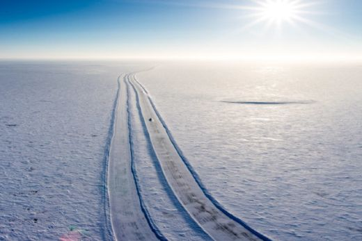Diamonds net - Canada's Ice Road Opens for Milestone Year