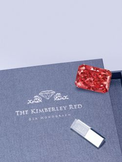 A Rare Fancy Red Diamond From The Argyle Mine In Australia Will Go On Display At Taiwan Jewellery Gem Fair Later This Week