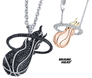 The Nba Diamond Jewelry Collections Feature Designer Gold And Neckpieces Of Iconic Logoarks Covering All 30 Teams