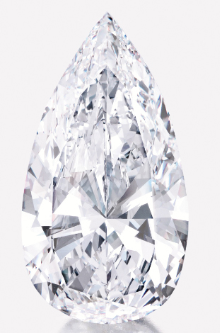 sotheby's 75 carat pear