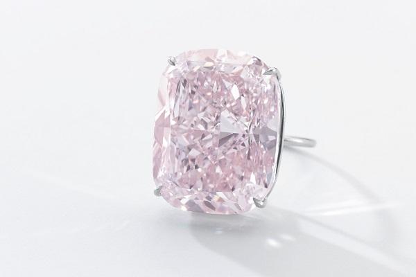 diamonds net record 37ct pink diamond up for sale