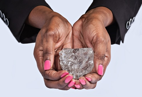 Lucara Finds Second-Largest Diamond in History