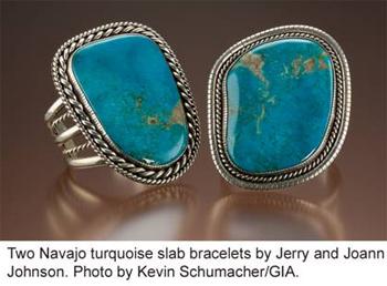 Gia displays native american jewelry for Thunderbird jewelry albuquerque new mexico
